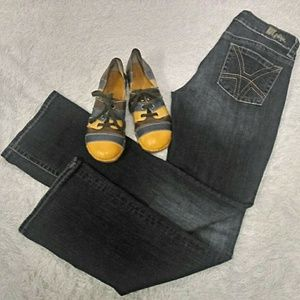 KUT Kut From The Kloth Nicole High Rise Jeans